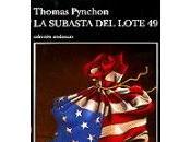 subasta Lote Thomas Pynchon