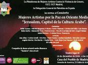 Concierto Mujeres Artistas Oriente Medio: Jerusalén, Capital Cultural árabe