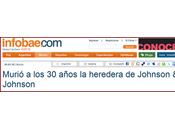 Muere Casey Johnson, heredera J&J;.