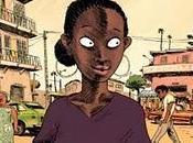 Otra forma para África. cómic empezar año.