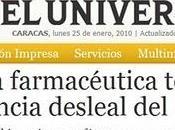 """Venezuela estado compite """"deslealmente""""..."""