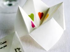 Regalos Valentín juego origami