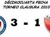 Argentinos Juniors:3 Colón:1 (14° Fecha)