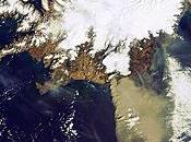 Imagen satélite nube ceniza volcán Eyjafjälla