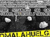 Piquetes manifestaciones Madrid