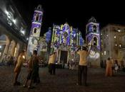 Catedral Habana, fiesta color