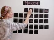 calendario pizarra
