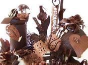 Centros mesa chocolate
