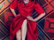 Vogue Italia abril 2012: glamour Greta Garbo