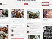 Pinterest redes sociales Armada Estados Unidos