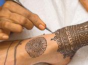 Cuidado tatuajes temporales henna