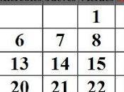 Calendario Feng Shui, 2012