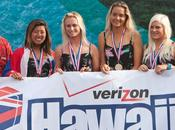 Team Hawaii campeón DAKINE World Junior Surfing Championship 2012