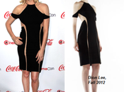 Charlize Theron muestra lado sexi little black dress Dion