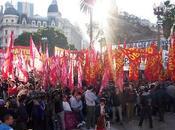 Masivo acto Frente Izquierda Trabajadores Plaza Mayo
