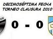 Colón:0 Atlético Tucumán:0 (17° Fecha)