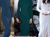 Carla Bruni, Amber Valletta Kate Middleton vestido Lombard Roland Mouret.