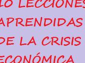 Lecciones aprendidas crisis económica