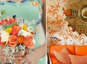 Colour Board #30. Menta, turquesa mandarina/ Mint, turquoise tangerine