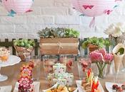 Buffet gourmet primavera,dulce salado
