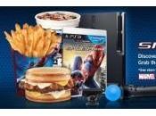 cadena restaurantes Hardees promociona Amazing Spider-Man