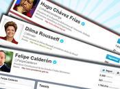 ¿Los presidentes latinoamericanos populares TWITTER?