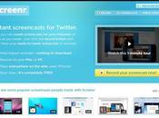 Screenr, crea grabaciones pantalla directamente desde navegador