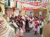 Muro Alcoy. Festes Santíssim Danses Plaça Palau 2012