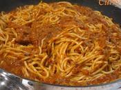 Espaguetis Boloñesa (variante soberana)