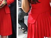 Elige look. Vestido rojo Alexander McQueen: Kate Middleton Kardashian