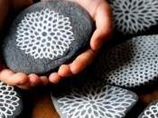 Relájate pintando piedras
