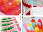 Mesas dulces: palitos azúcar