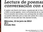 Poetas piscifactoría: Luis Alberto Cuenca, José Morante Juan Carlos Mestre