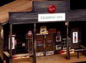 """Café Coleman William Christenberry"