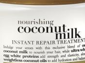 Nourishing Coconut Milk Organix Instant Repair Treatment tratamiento reparación instantáneo