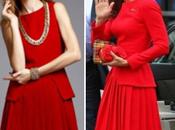 clon vestido McQueen lució Kate Middleton, euros