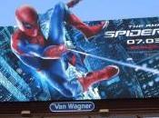 Valla publicitaria Amazing Spider-Man