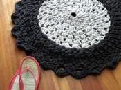 Teje alfombra trapillo