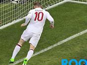 Rooney despide Ucrania. Francia Cuartos Euro12
