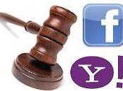Yahoo Facebook están pelea patentes