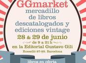 GGmarket, llega primera edición mercadillo libros Gustavo Gili