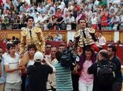 Sobre salida hombros Talavante Manzanares Badajoz