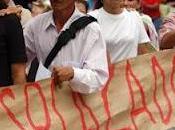 Organizaciónes Desplazados Colombia Convocan movilización pacífica