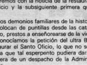 Vuelve Santo Oficio, Blog Cabrero Aniversario (dossier prensa)