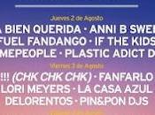 Santander Music Festival: Distribución Días