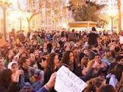 Manifestaciones juveniles primavera valenciana'