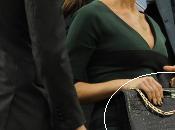 Victoria Beckham Wimbledon, vestido bolso cocodrilo propia colección