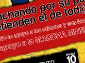 Madrid apoyo mineros familias