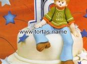 Paso paso: Idea para tartas fondant cumpleaños.