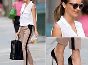 Miranda Kerr muestra elegante estilo para trabajo